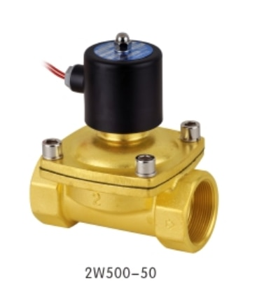 Brass Pneumatic components Fluid Control Valve High Quality 2W series 2w160-15 diaphragm control water solenoid valve enlarge