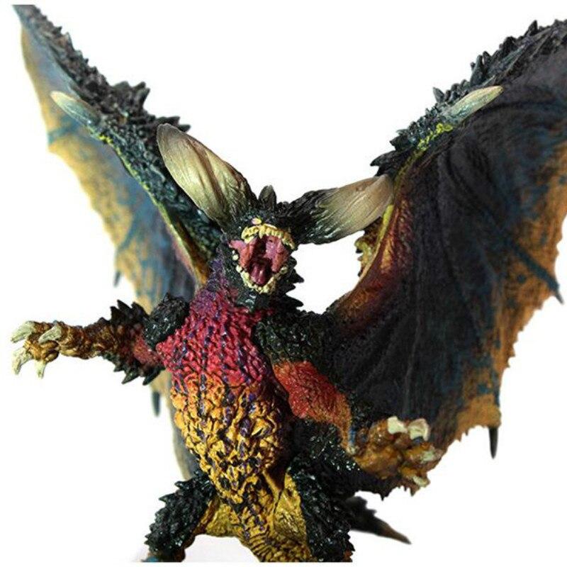 Original Japón Anime MHW Monster Hunter figura del juego mundial nergizante PVC modelos antiguo dragón figura de acción juguetes de decoración
