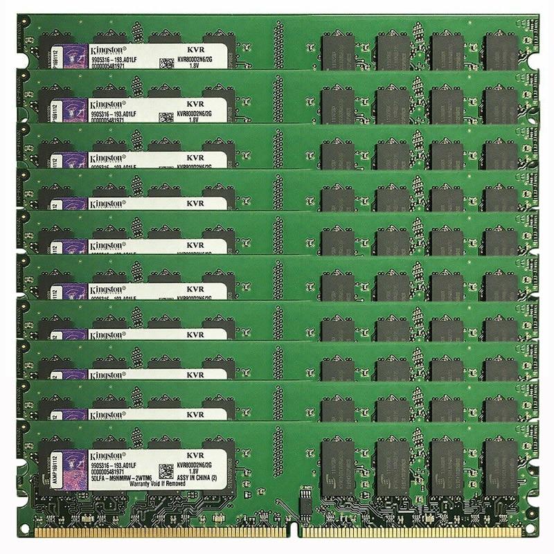 DDR2 800 ميجا هرتز pc2-6400 DIMM ذاكرة وصول عشوائي مكتبية 200-pins 1.8 فولت غير ECC ، الجملة/حجم 2R X 8 لوحة واسعة غير مخزنة