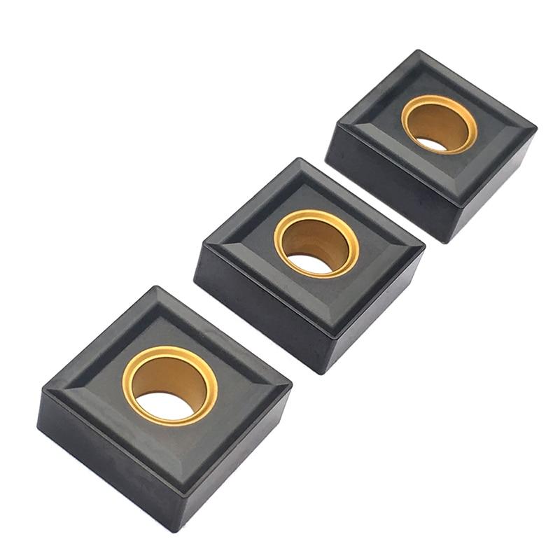 10PCS SNMG120404 SNMG120408 KC3115 High Quality Carbide Inserts External Turning Tool SNMG Blades CNC Lathe Tools For Cast Iron