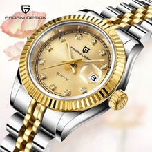 PAGANI DESIGN Women's Watches Luxury Brand Fashion Gold Wristwatch Ladies Dress Sport Clock Women St