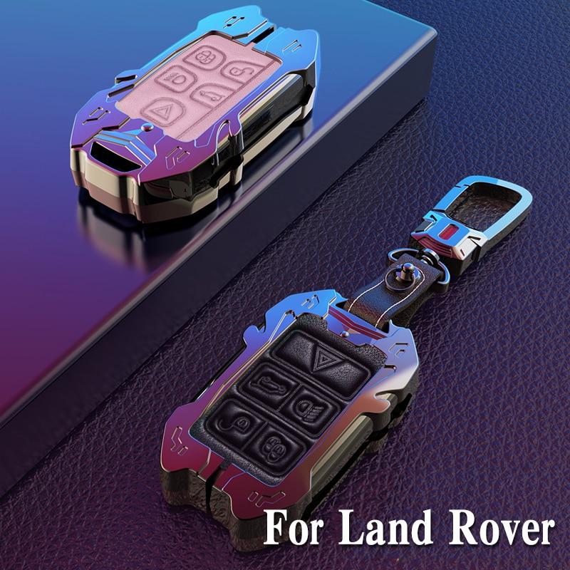 Dla Land rovera LR4 LR2 Discovery FREELANDER DISCOVERY RANGE Rover Range Evoque stop galwanizowany etui na klucze pokrywa powłoka ochronna
