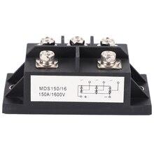 MDS150A 3-Phase Diode Bridge Rectifier 150A Amp 1600V Copper 150 Celsius 80X40X33Mm Metal Case Diode Bridge Control