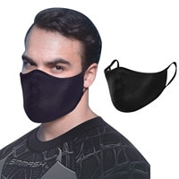 Adult Mouth Masks Mascarilla Men Black Printed Cotton Face Mouth Mask Cover Washable Dustproof Holiday Outdoor Breathable 2020