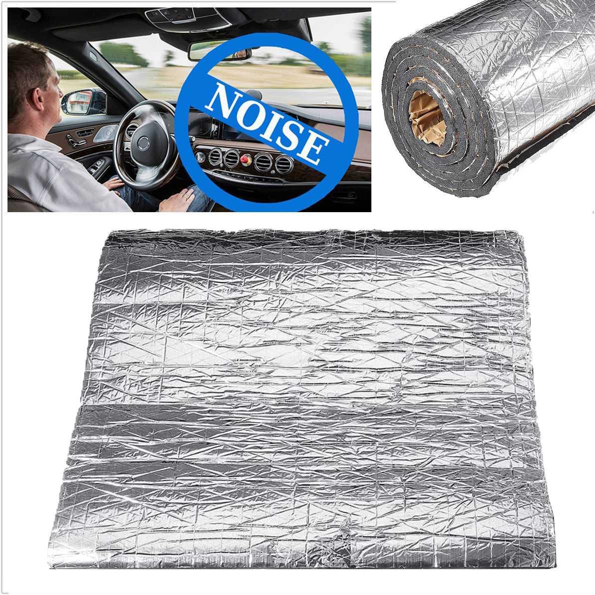 سجادة عازلة للصوت والحرارة للسيارة ، 200 × 50 سنتيمتر ، 7 مللي متر ، 10 مللي متر ، عازل للصوت