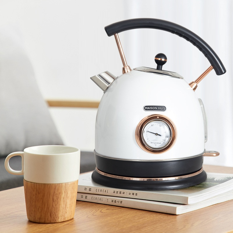 304 stainless steel Electric Kettle tea pot With Water Temperature Control Meter Household Quick Heating 1.8L health pot household tea maker multifunction electric kettle smart touch hot water heating insulation kettle decocting pot