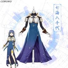 [Pre-sale] Anime! Magia Record Puella Magi Madoka Magica Nanami Yachiyo Lovely Dress Uniform Cosplay Costume NEW Free Shipping