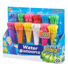 111PCS fast filled water balloons Magic Filling Water Bombs Children Families Water War Game Party S