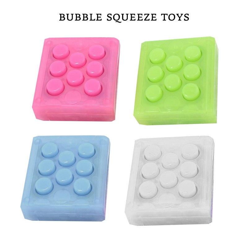 Hot Sale Mini Toy Puchi Puchi Endless Pop Pop Novelty Infinite Bubble Crazy Gadget Wrap Relieve Stress Key Chain Squeeze enlarge