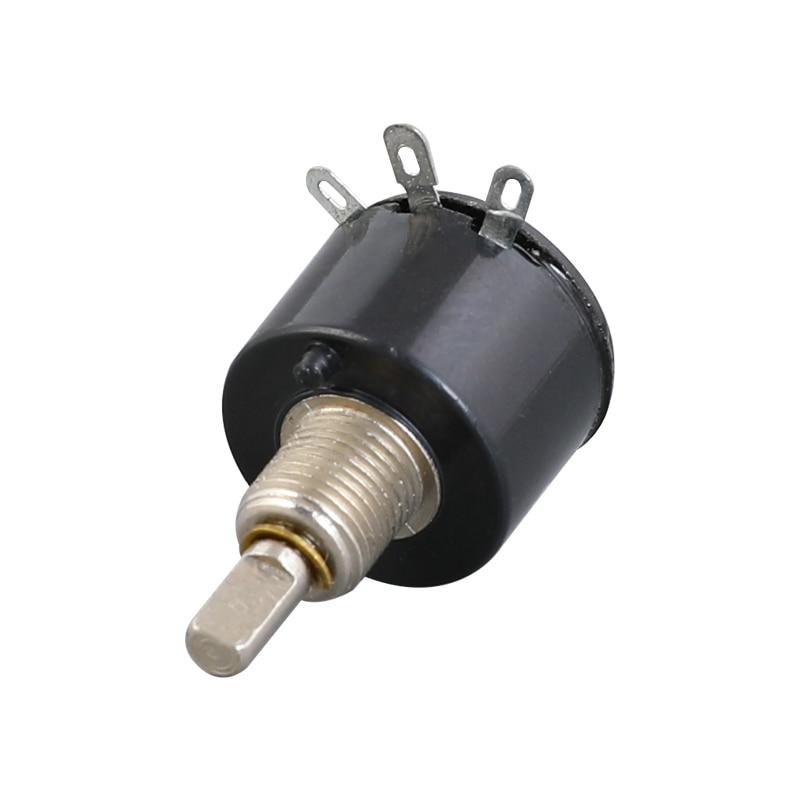 5 pces Wx13-12 único laço wirewound potenciômetro série wx1-5b 1 k/2k2/4k7 / 10 k/3k3, 10 k potencial