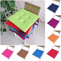 multicolor 4040cm chair pad removable solid color chair cushion seat pad cushions cold summer useful home textile products