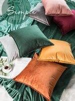 home decorative sofa throw pillows chair nordic throw pillow cushion sofa cushion office lumbar velvet throw pillow case