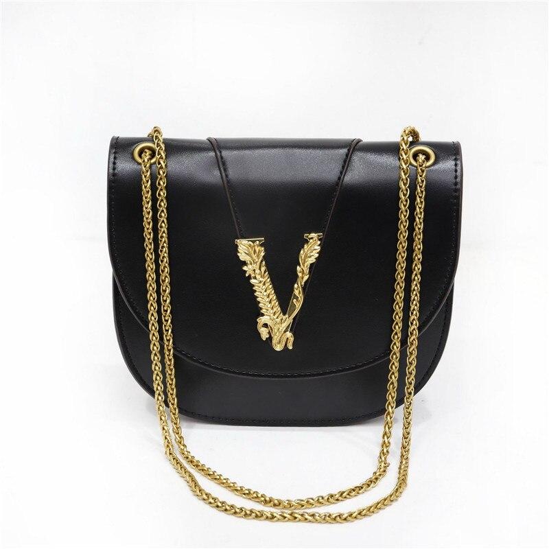 2021 полукруглая металлическая сумка через плечо с V-образной цепочкой, знаменитые дизайнерские высококачественные женские сумочки и сумки Louis Bag Louis