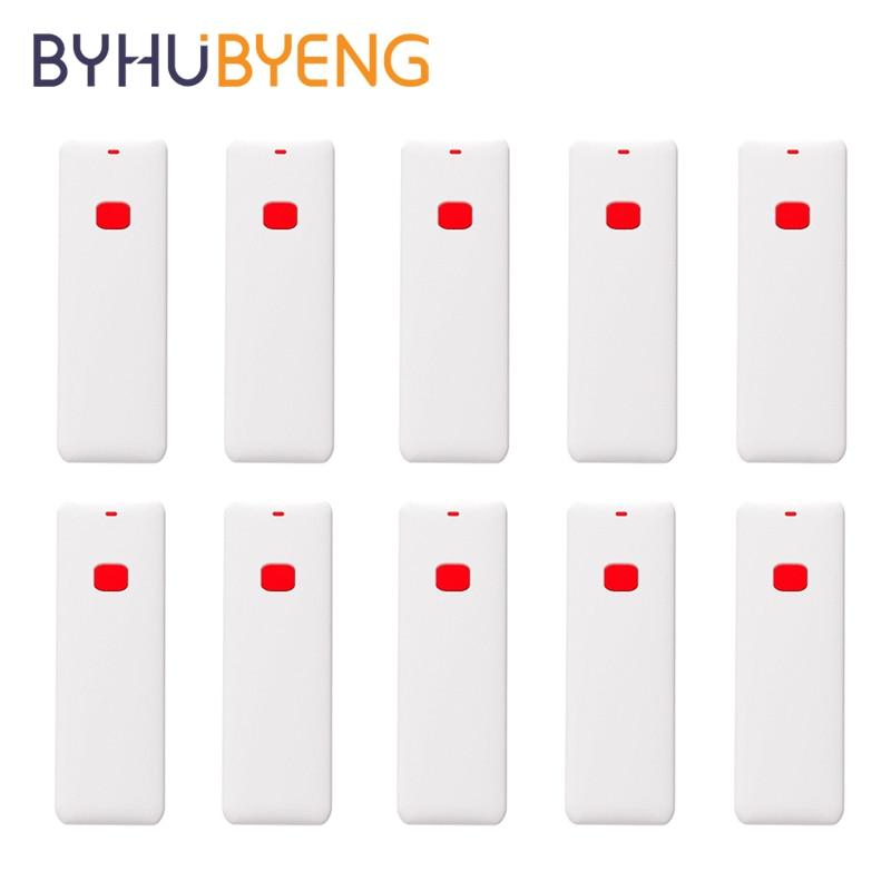 BYHUBYENG 10pcs Brand Button Quiz Buzzer System Restaurant Bell System Call Waiter Service Bell Restaurant Equipments Table