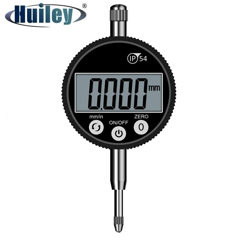 0-12.7 mm Electronic Digital Indicator High Accuracy 0.001 mm Oil Proof Gauge Measuring Instrument Tool IP54 Dial Gauge inner diameter gauge measuring rod probe no indicator accessories