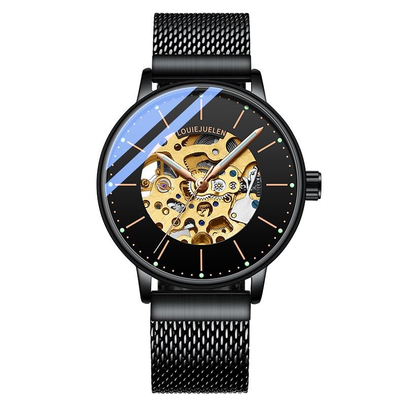 Фото - Watch Men Fashion Sport Clock Top Luxury Blast Mechanical Watch Simple Style Boys Waterproof Source Fashion Men Watches 2021 fashion source technical design