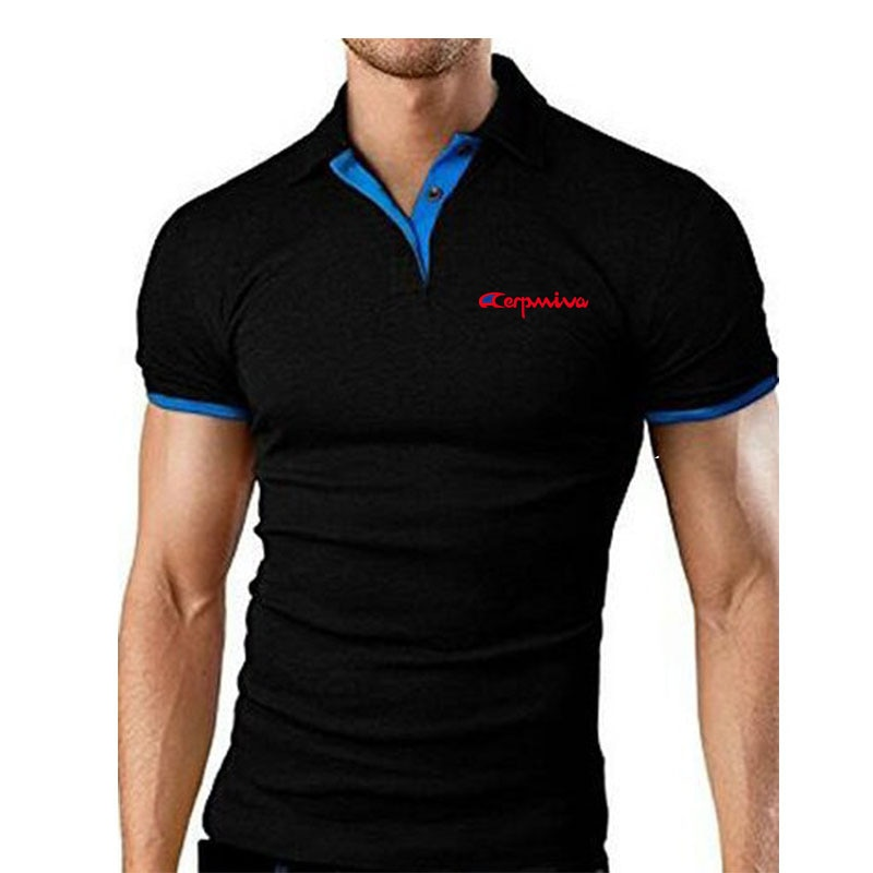 """Camiseta de manga corta, Jerseys de talla grande, Polo para hombre, Polos de diseño para hombre, Material de ajuste de estilo de algodón M-4XL de Color para hombre"""