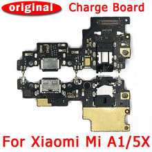 Original Charging Port For Xiaomi Mi A1 5X Charge Board USB Plug PCB Dock Connector Flex Cable Replacement Repair Spare Parts