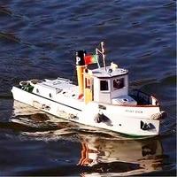 120 inland river tug okota length 715mm width 207mm height 324mm basswood assembled boat model kit