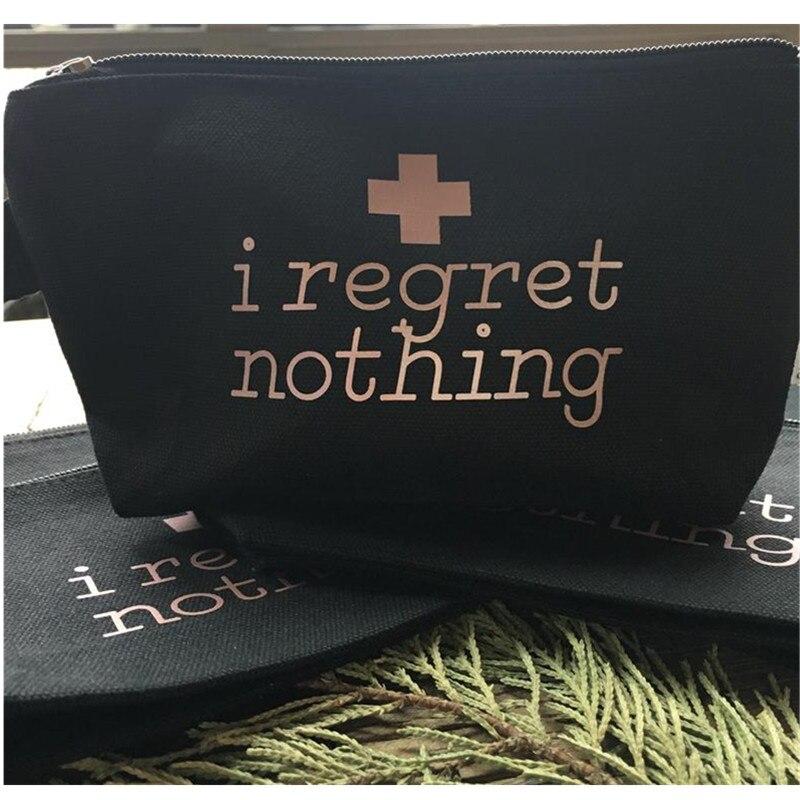 Kit de bolsas personalizadas de despedida de soltera, bolsas de regalo para regalo, bolsas de maquillaje para damas de honor, bolsa de cosméticos