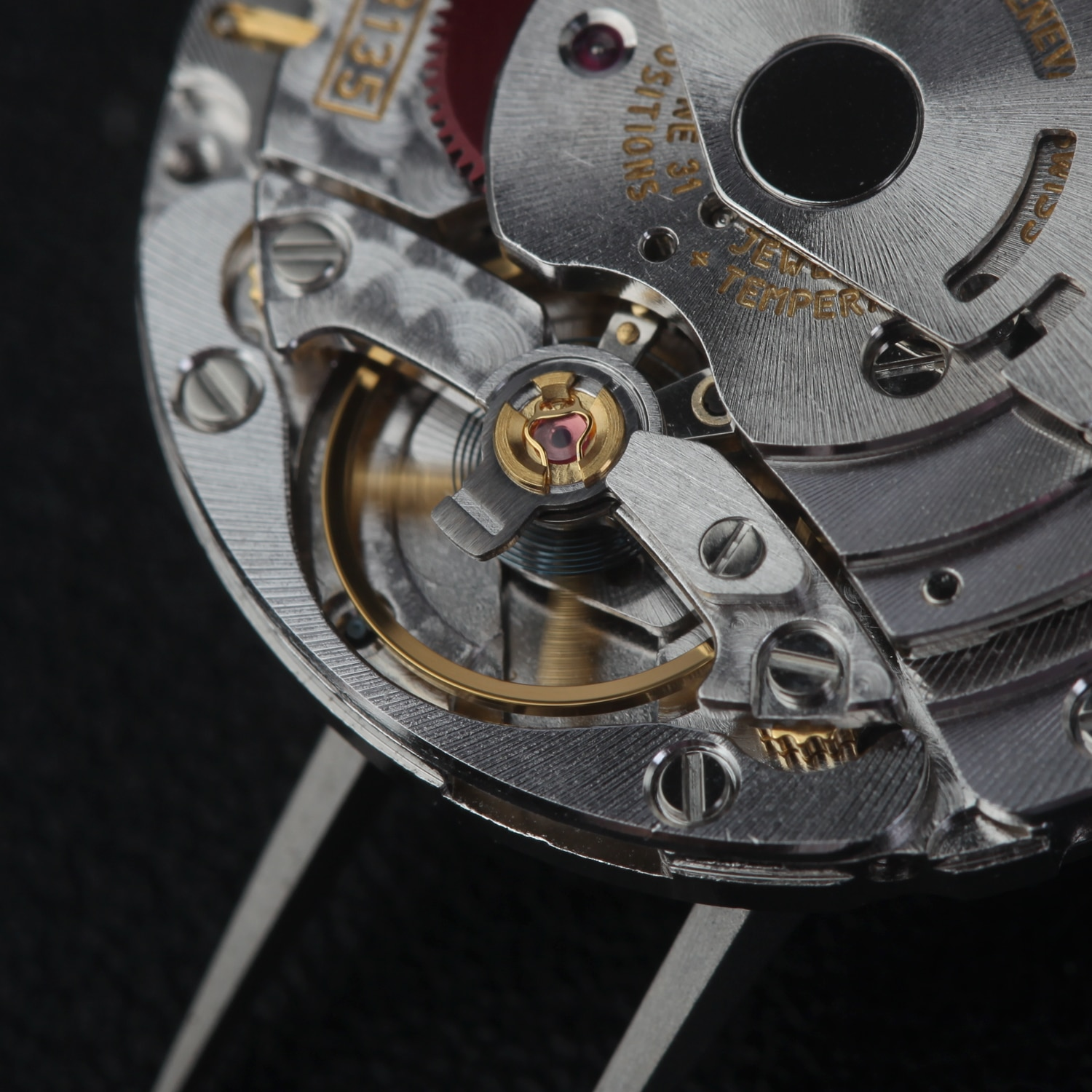 china made vr / zz 3135 movement for watch repair parts new edition 2021 reliable quality carving serial number