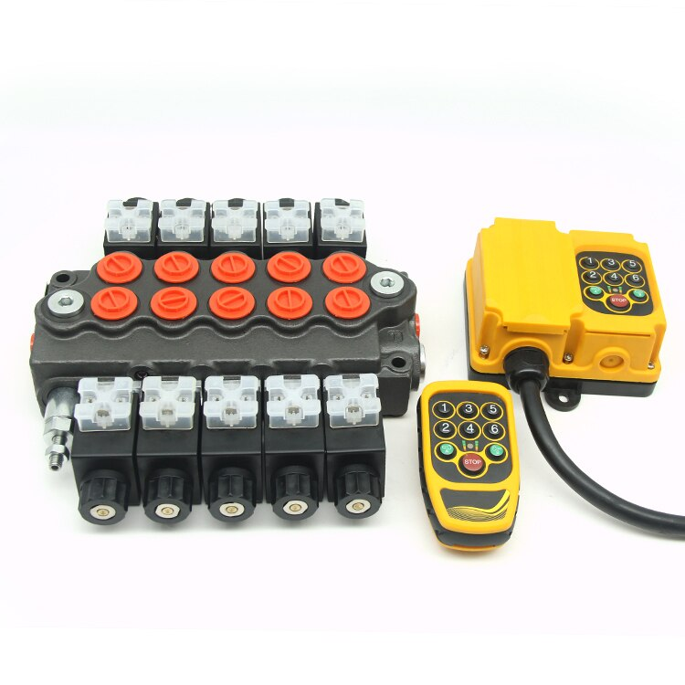 50LPM HM3 HYDRAULIC DIRECT SOLENOID CONTROL VALVES 24V 12VDC ELECTRIC