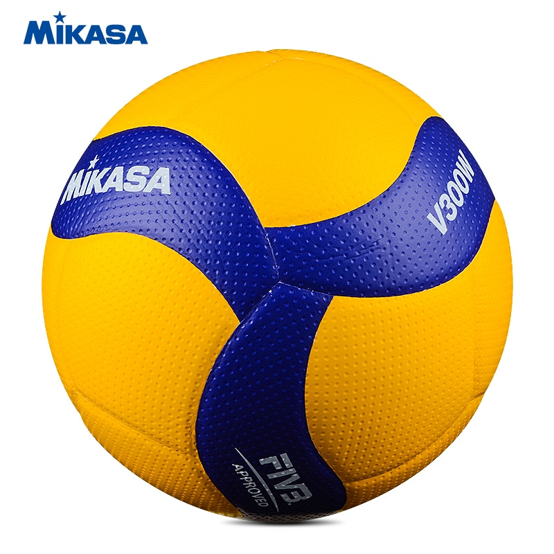 Original Mikasa Volleyball V300W FIVB Official Game Ball FIVB Approved for Competition Adult Ball Volleyball
