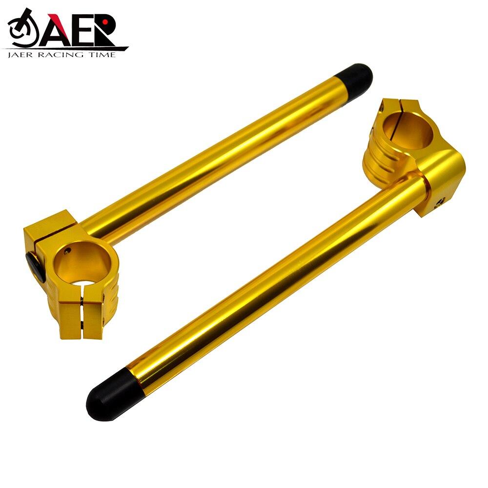 "JAER Motor 7/8"" CNC Clip Ons Handlebars Clipon Fork Handle Bars 33mm 35mm 37mm 41mm 43mm 45mm 46mm 48mm 50mm 51mm 52mm 53mm 54mm"