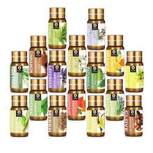 Pyrrla 5ML Pure Essential Oil Massage Humidifier Tea Tree Orange  Peppermint Eucalyptus Lemongrass L