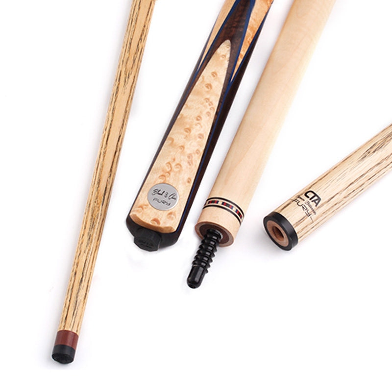 Fury CN series handmade billard stick with extension 11mm tip Canada ash shaft radial jointed inlay butt new billiards pool cue