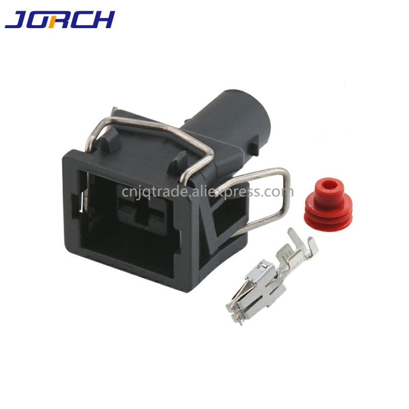 1pin VW 6.3mm automotive electrical starter plug 357 972 771 wiring harness cable connector 35797277