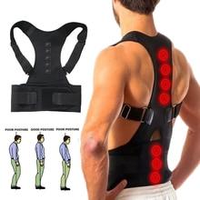 Magnetic Therapy Posture Corrector Brace Supporter Shoulder Back Support Belt Menwomen Braces And Su