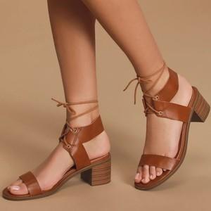 Wedding Women Sandals Summer INS Fashion Metal Ankle Chain High-heel Shoes Sandalias De Mujer Black Woman Pumps