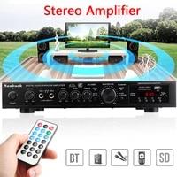 Amplificateur stereo bluetooth HiFi a 5 canaux  karaoke numerique  cinema a domicile  amplificateurs a domicile