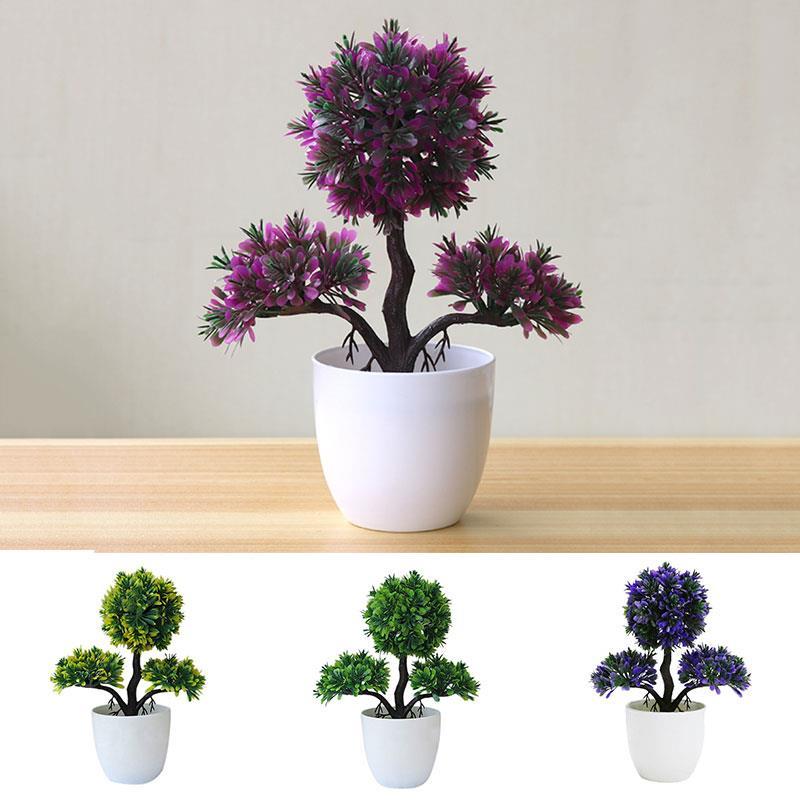 Little Pine Tree Household Artificial Tree Beautiful Lightweight Fake Plant Simulation Flower Decoration Wedding Fashion