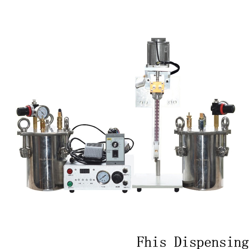 Máquina de Distribuição Automática da Máquina de Irrigação Dobro do ab com Tanque de Pressão da Válvula de Distribuição da Precisão para o Envasamento da Cola Líquida Precisão para Envasamento Cola Epoxy da o