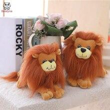 BOLAFYNIA enfants en peluche amour peluche lion bébé enfants en peluche jouet pour noël cadeau danniversaire lion