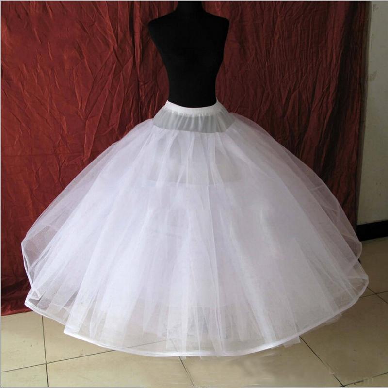 New Puffy Petticoat Underskirt For Ball Gown Wedding Dress Quinceanera Dress Underwear Crinoline Wedding Accessories