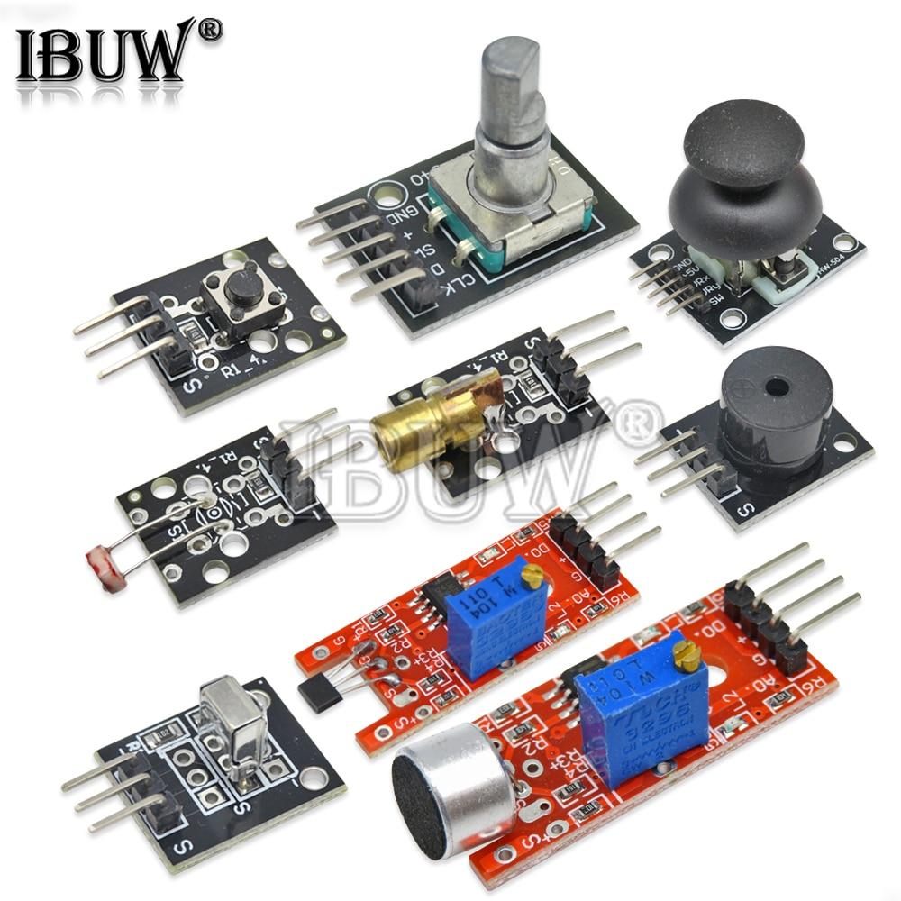 1PCS KY-003/004/006/008/016/018/022/023/024/037/040 DIY Hall/Button/Switch/Sensor Module for Arduino KY-004 KY-006 KY-008 KY-016