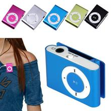 MP3 Player 3.5mm Compact Stylish Portable Music Media Player Clip Without Screen Support Micro SD TF