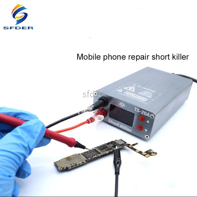 TS-30A TS-20A قصير القاتل PCB ماس كهربائى خطأ كاشف صندوق ماس كهربائى خطأ تشخيص أداة لإصلاح آيفون