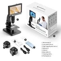 2000x digital microscope handheld digital microscope vga 1080fhd usb interface electron microscopes with 11 leds with bracket