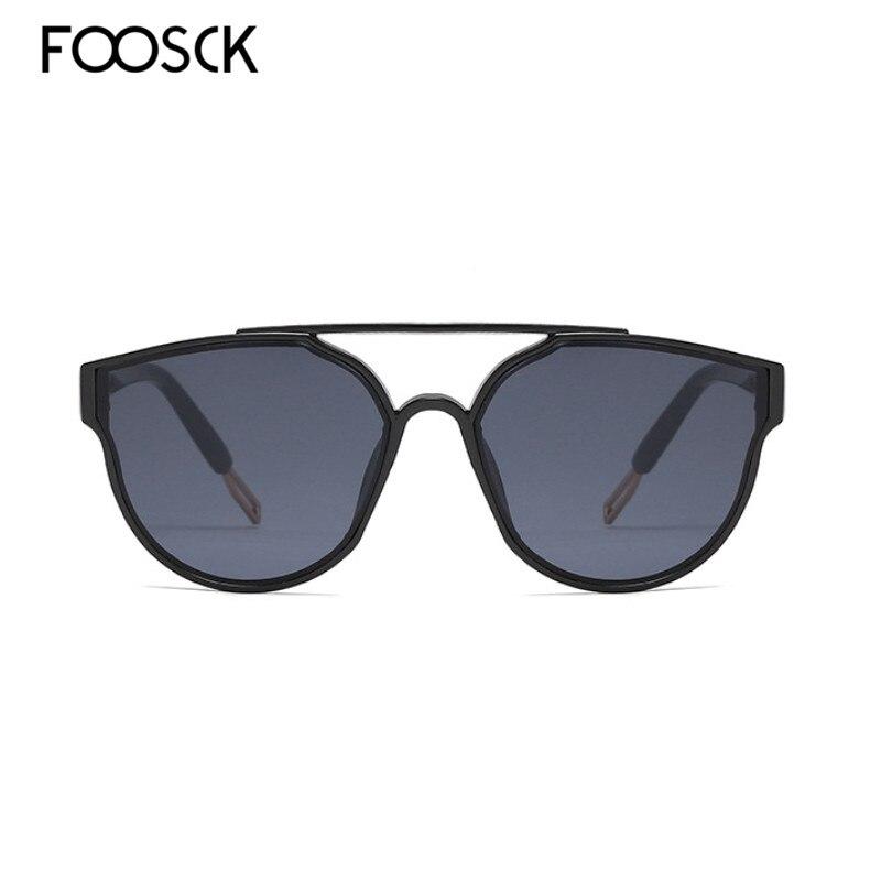 Foosck marca designer de luxo óculos de sol feminino moda vintage grandes óculos de sol das senhoras óculos de sol feminino