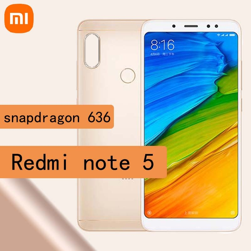 Celular Xiaomi Redmi note 5 smartphone 6g 64g snapdragon 636*2160*1080, 5,99 HD...