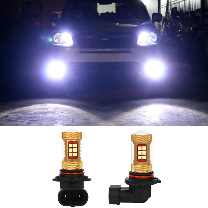 2x56W 9006 HB4 para Samsung 3030 Chip LED coche DRL faros antiniebla para Subaru Impreza Forester 2013 2012 2011 2010