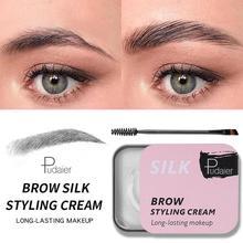 Neue 3D Gefiederten Brauen Make-Up Gel Creme Seife Brauen Kit Augenbraue Gestaltung Creme Langlebig Stirn Lift Augenbraue Enhancer Farbton pomade