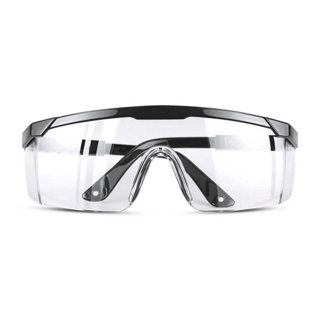New Safety Glasses Lab Eye Protection Protective Eyewear Clear Lens Workplace Safety Goggles Anti-dust Supplies