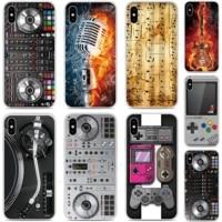 DJ Mixer Weiche TPU Telefon Fall Fur Sony Xperia XZ5 XZ3 XZ2 XZ4 Kompakte XA3 XA1 Plus XA2 Ultra L4 l3 5 10 1 II E5 8 Lite Abdeckung