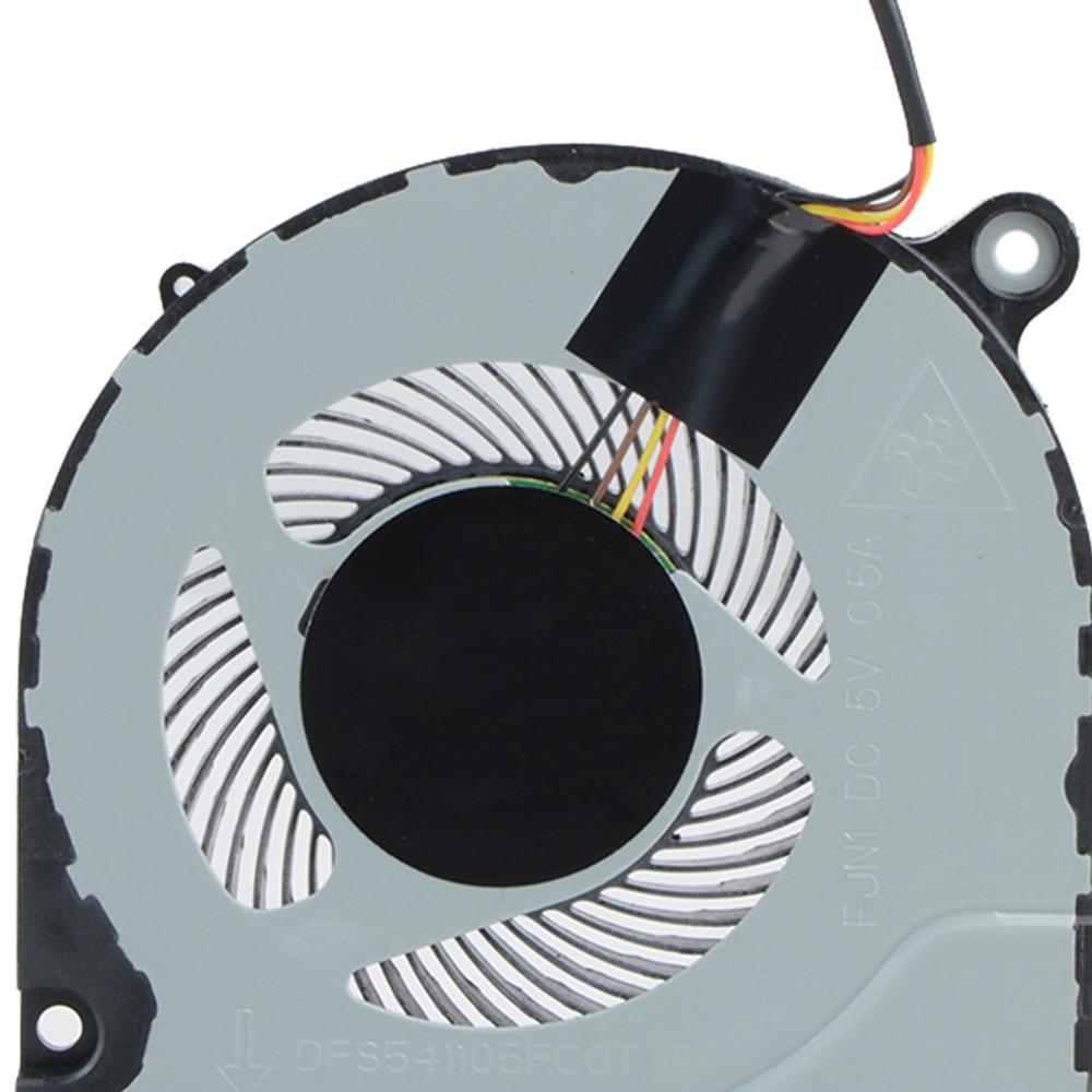 1 piezas ventilador de CPU enfriador para Acer Predator Helios 300 G3-571 Nitro5 AN515 AN515-51 52 AN515-41 CPU GPU ventilador de refrigeración