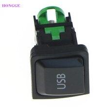 Hongge RCD10 RNS510 Usb Switch Socket 5KD 035 726 Een Voor Passat B6 B7 Cc Eos Golf MK6 Scirocco Polo touran